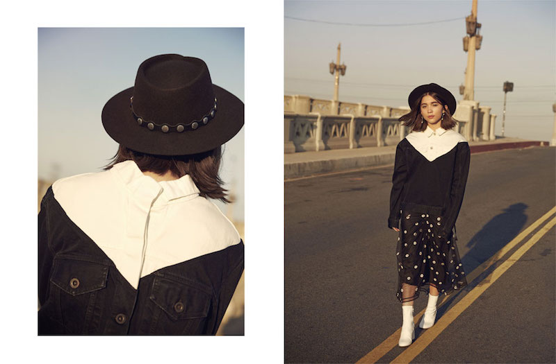 A World Girl: Rowan Blanchard for The EDIT