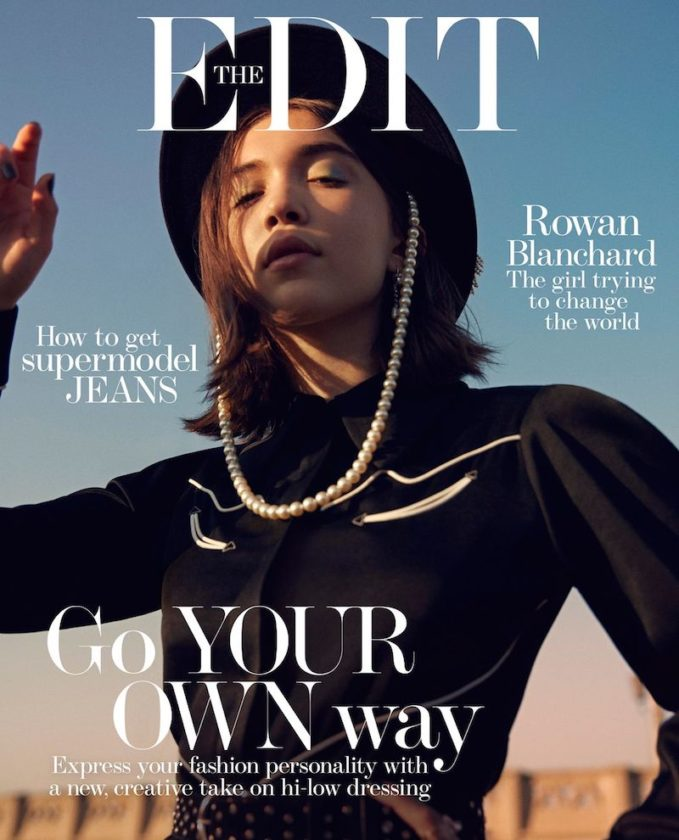 A World Girl: Rowan Blanchard for The EDIT