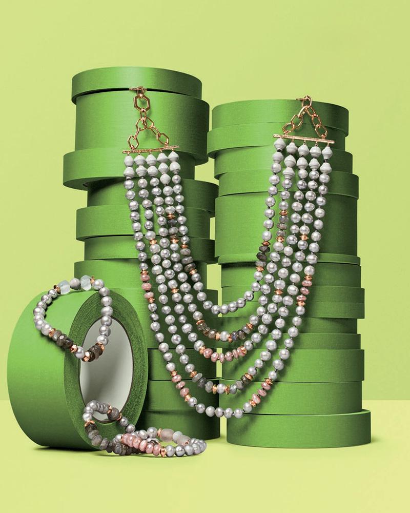 Akola Five-Strand Bracelet Necklace