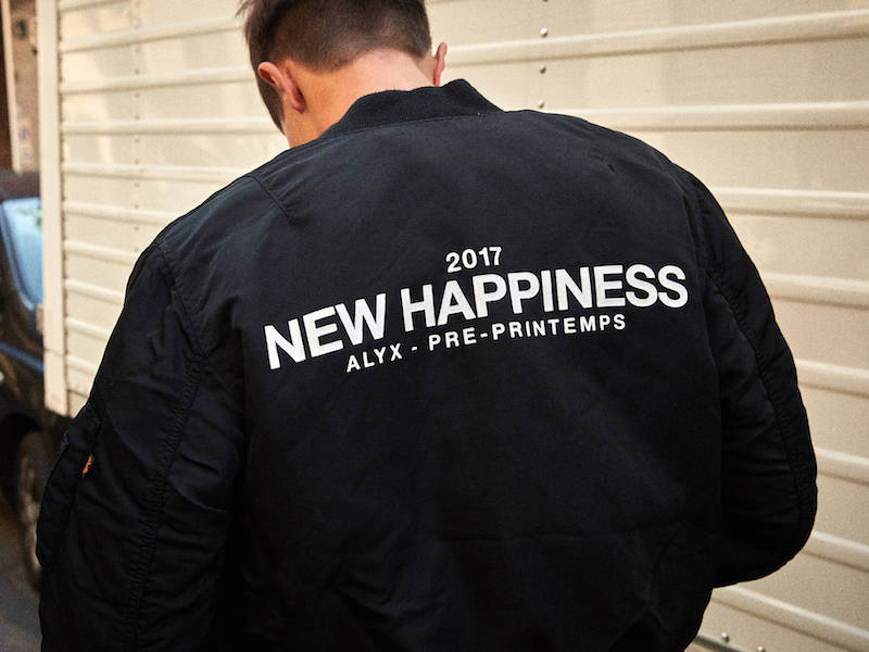 Alyx New Happiness Reversible Bomber Jacket