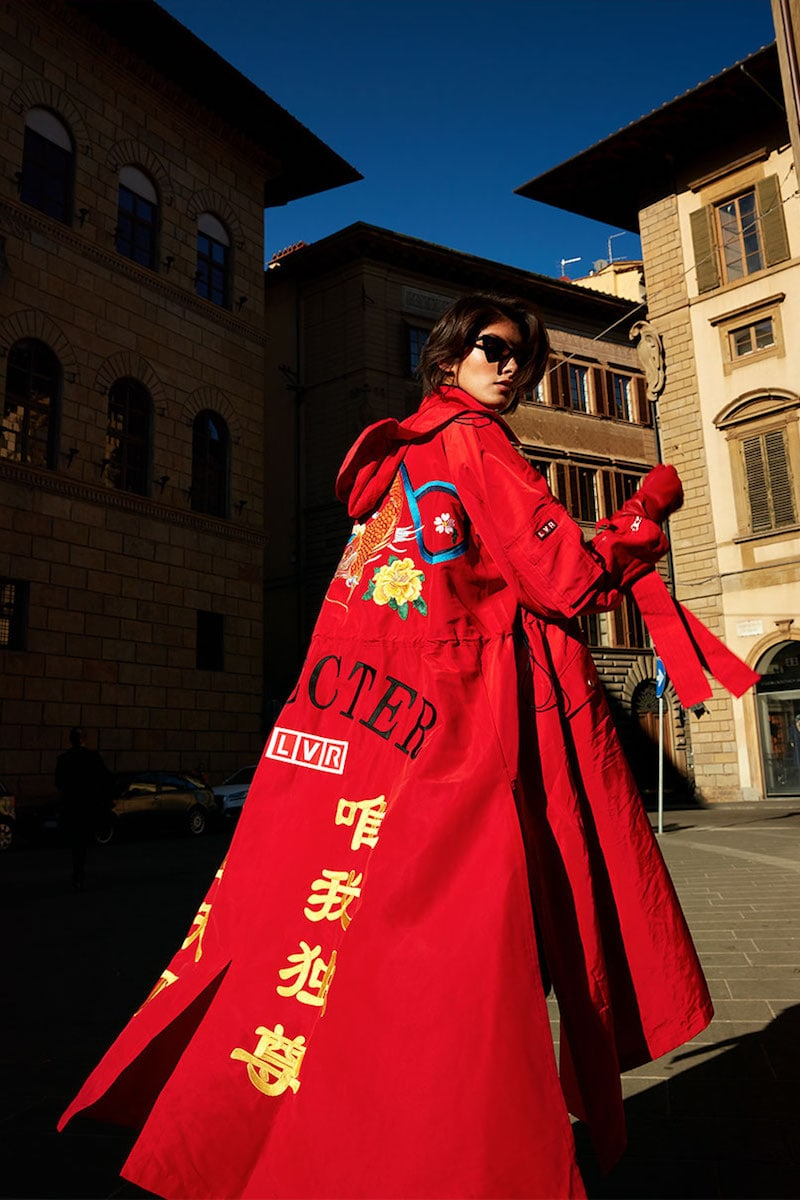 Angel Chen LVR Edition Embroidered Windbreaker Coat