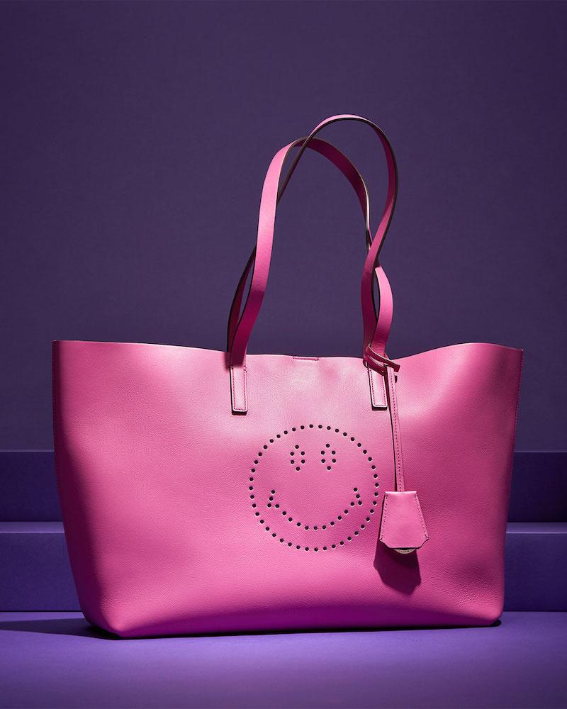 Anya Hindmarch Ebury Shopper Smiley Tote Bag