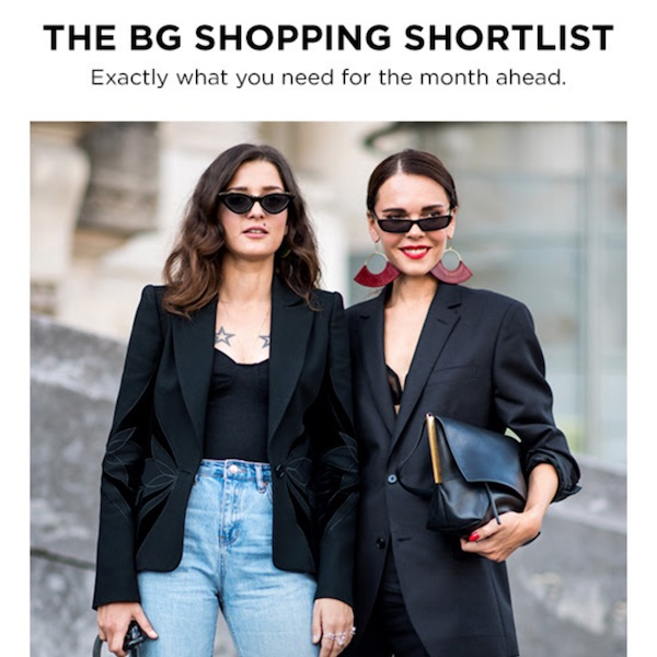 Bergdorf Goodman Shopping Shortlist: 7 Things to Covet of November 2017