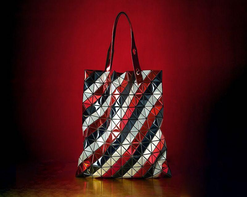 Bao Bao Issey Miyake Platinum Metallic Tote Bag