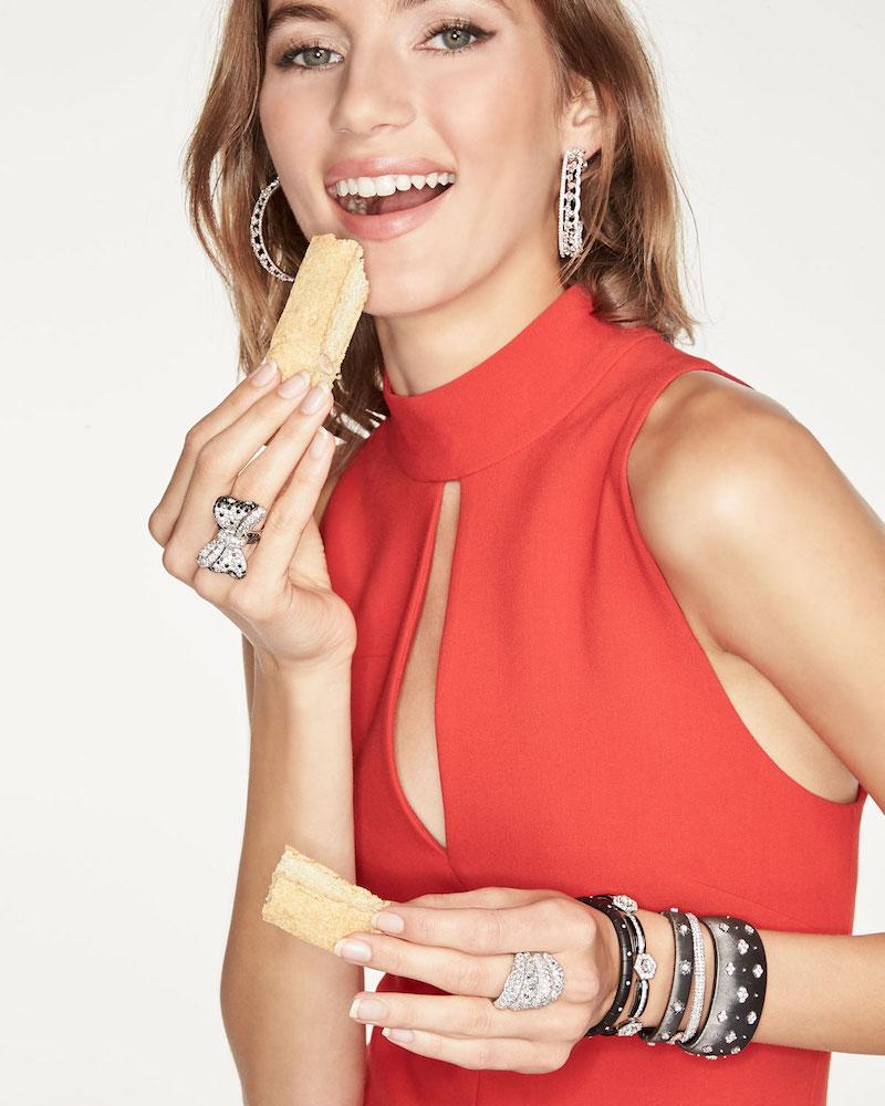 Buccellati Macri Cuff Bracelet with Diamonds