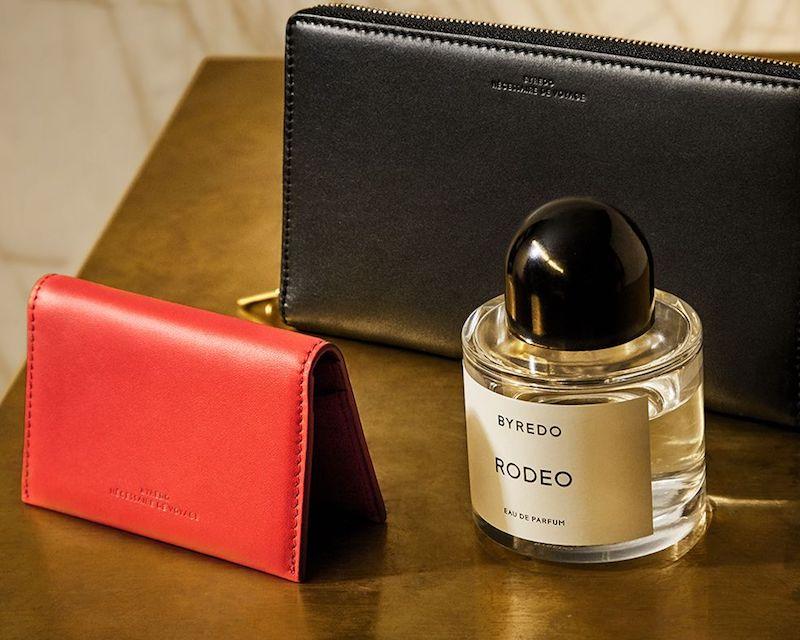 Byredo Matte Leather Zip-Around Wallet