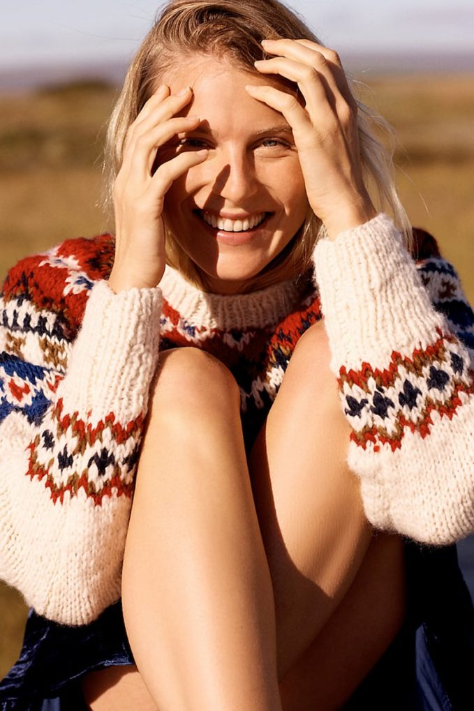 Chamula Fair Isle Pullover Sweater