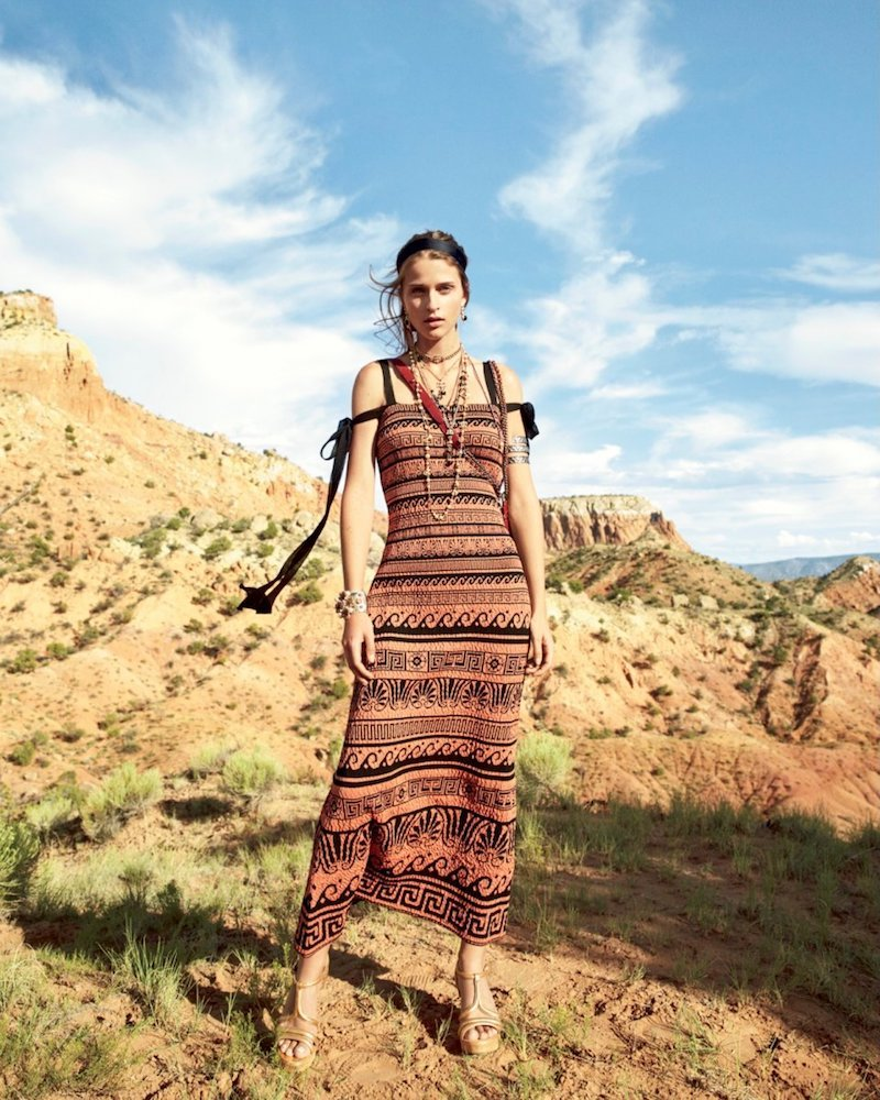 Chanel Printed Knit Dress