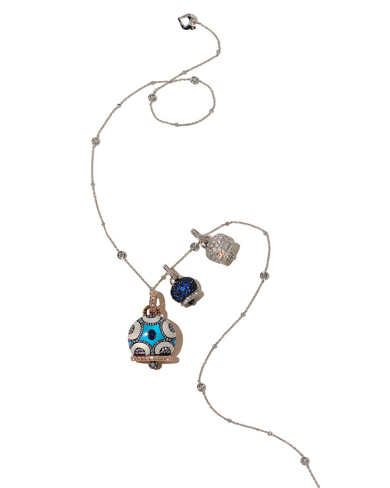 Chantecler Capri Diamond By-the-Yard Necklace