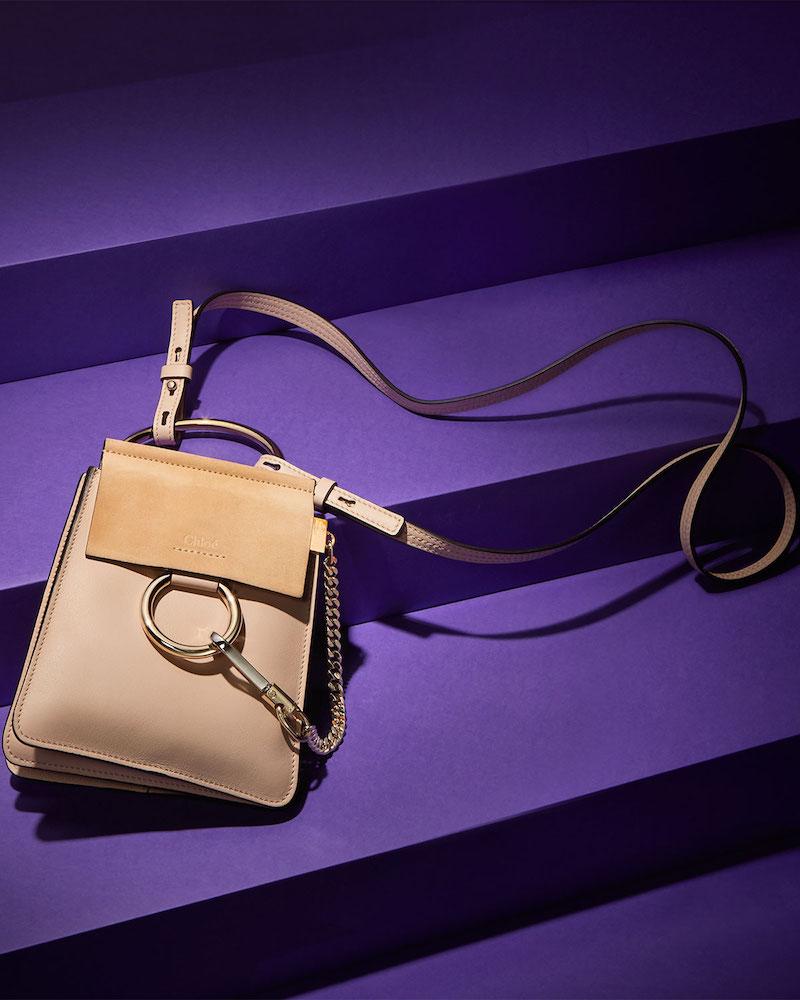 Chloé Faye Mini Bracelet Clutch Bag