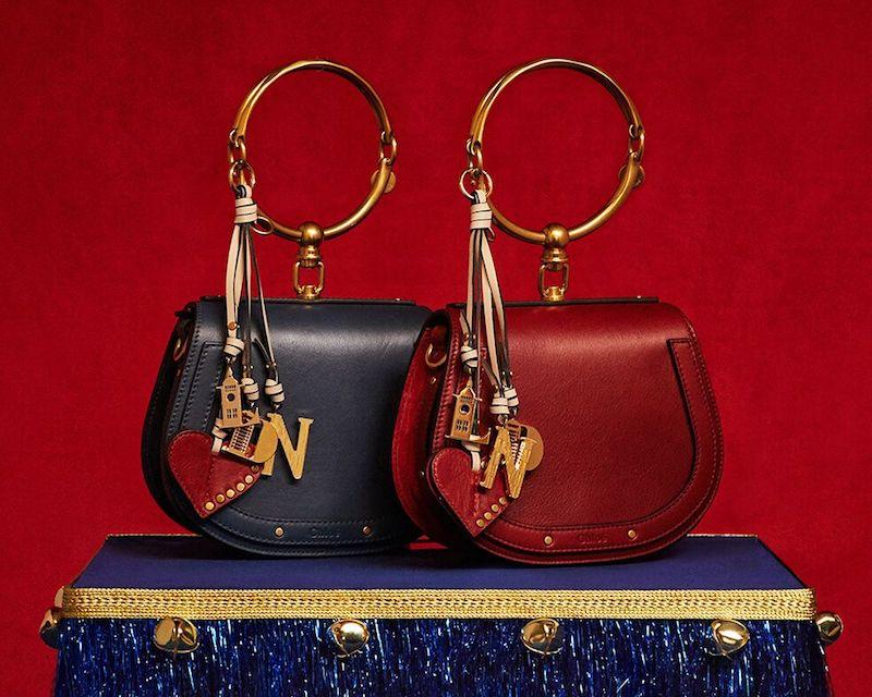 Chloé Nile Leather Cross-Body Bag