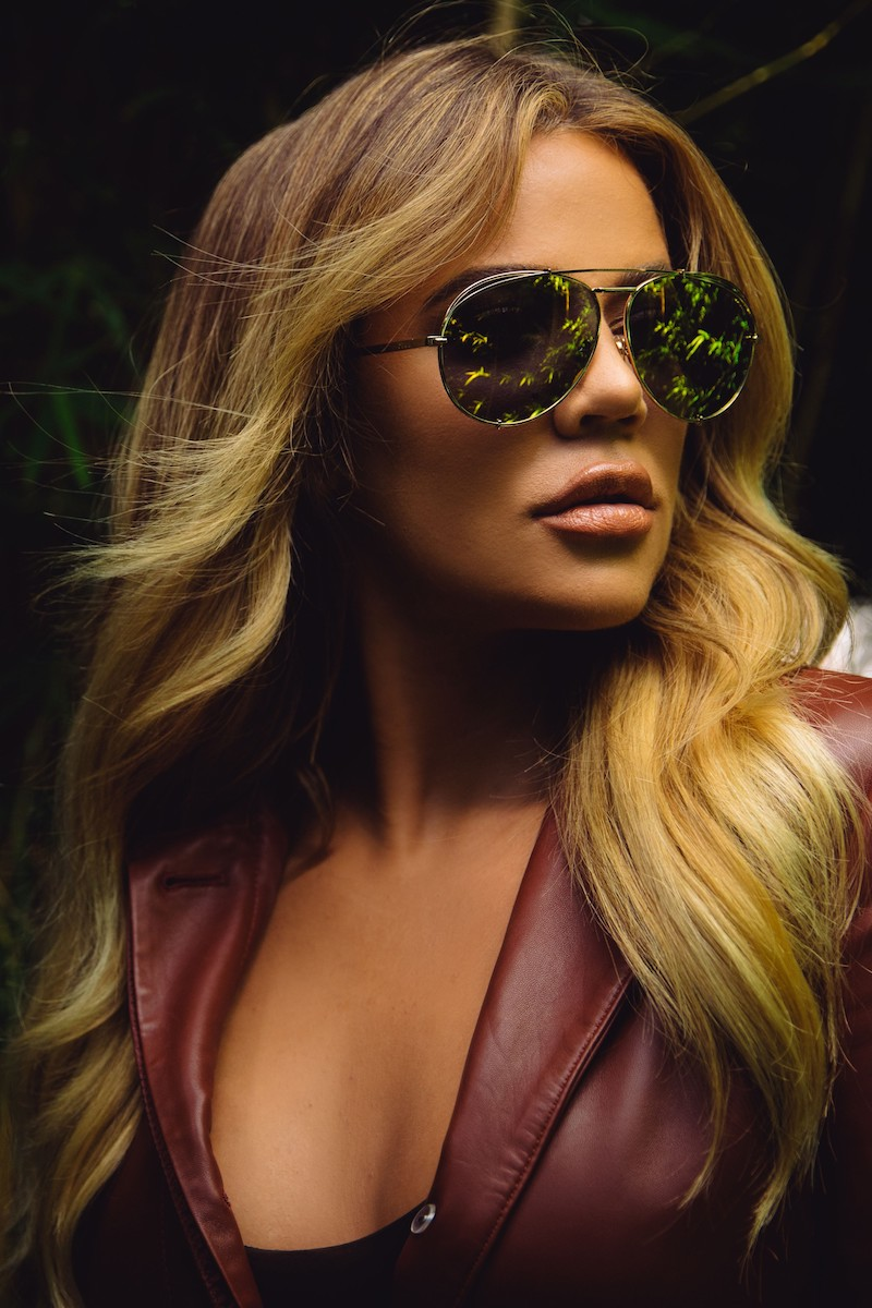 DIFF x Khloé Koko 63mm Oversize Aviator Sunglasses in Light Gunmetal