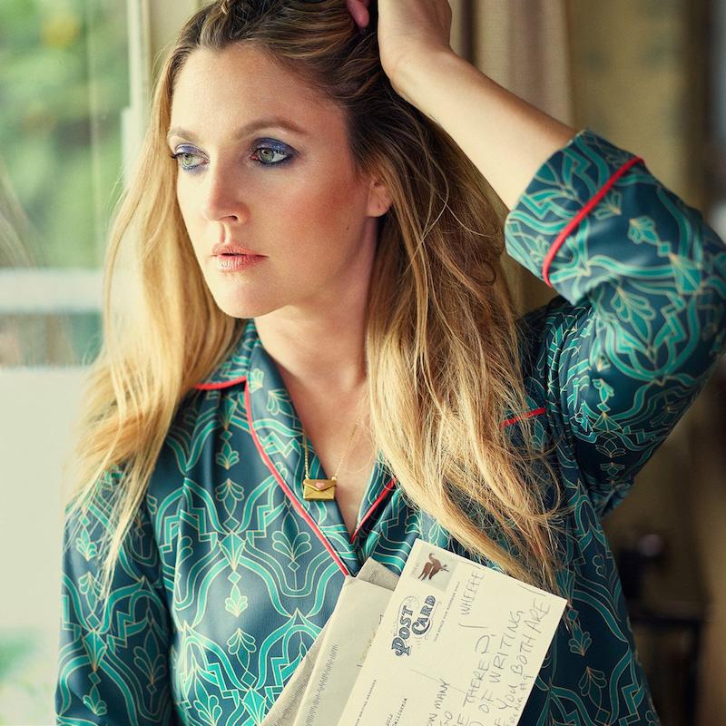 Dear Drew by Drew Barrymore Christopher St Button Down Long Sleeve Blouse