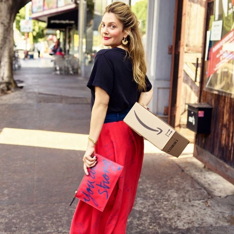 Dear Drew by Drew Barrymore You are Strong Clutch