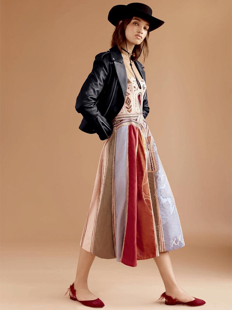 "Dior ""Judgement"" Tarot Bustier Gown"