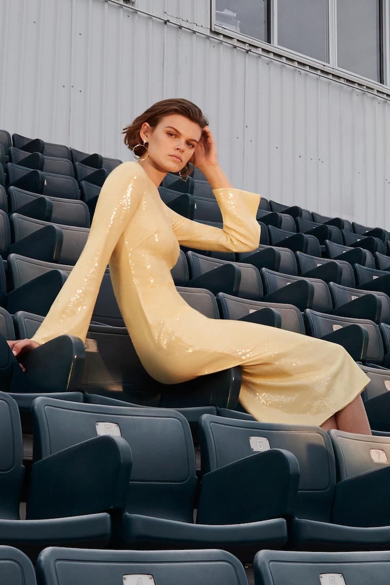 Eleanor Balfour Alessia Sequined Dress