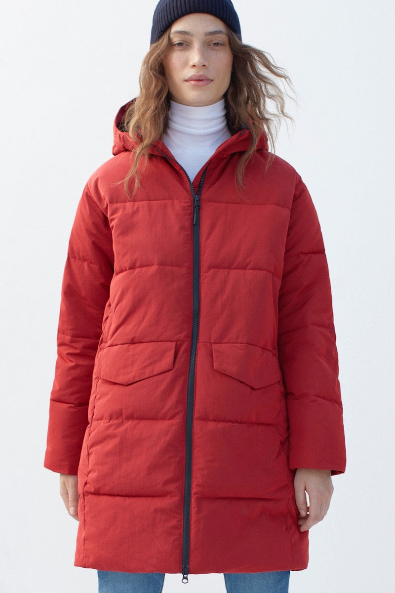 Everlane Long Puffer Jacket
