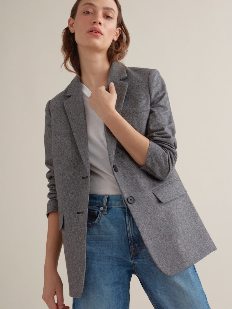 Go Big Everlane Oversized Blazer Nawo