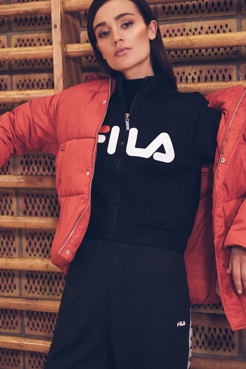 FILA Nicole Cropped Jacket