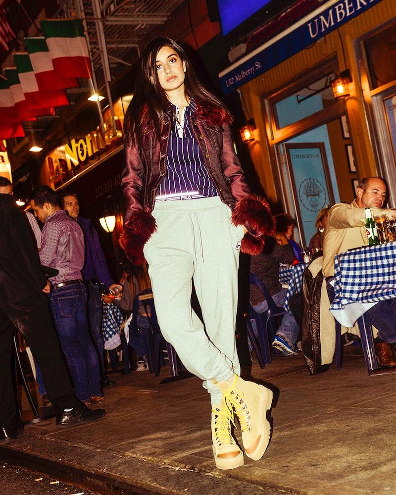 FILA thedrop@barneys: Jailene Cotton-Blend Jogger Pants