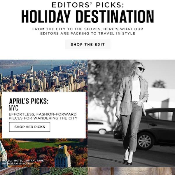 FWRD Editors' Picks for Holiday Destination 2017