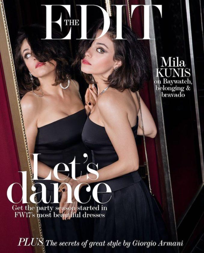 Good Girls Go Bad: Mila Kunis for The EDIT
