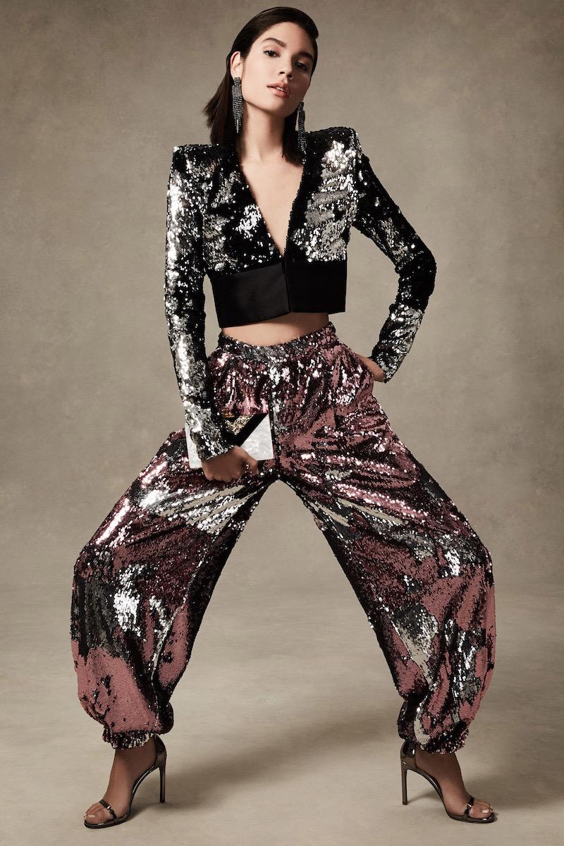 Greta Constantine Trixie Bolero Embellished Jacket