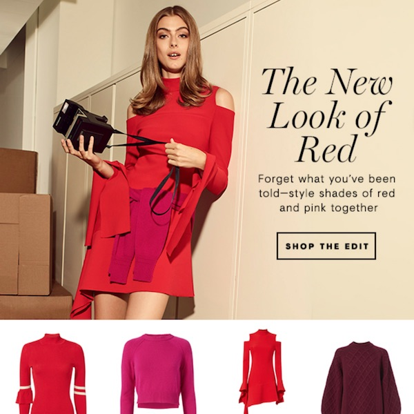 Color We Love // The New Look of Red Fall 2017