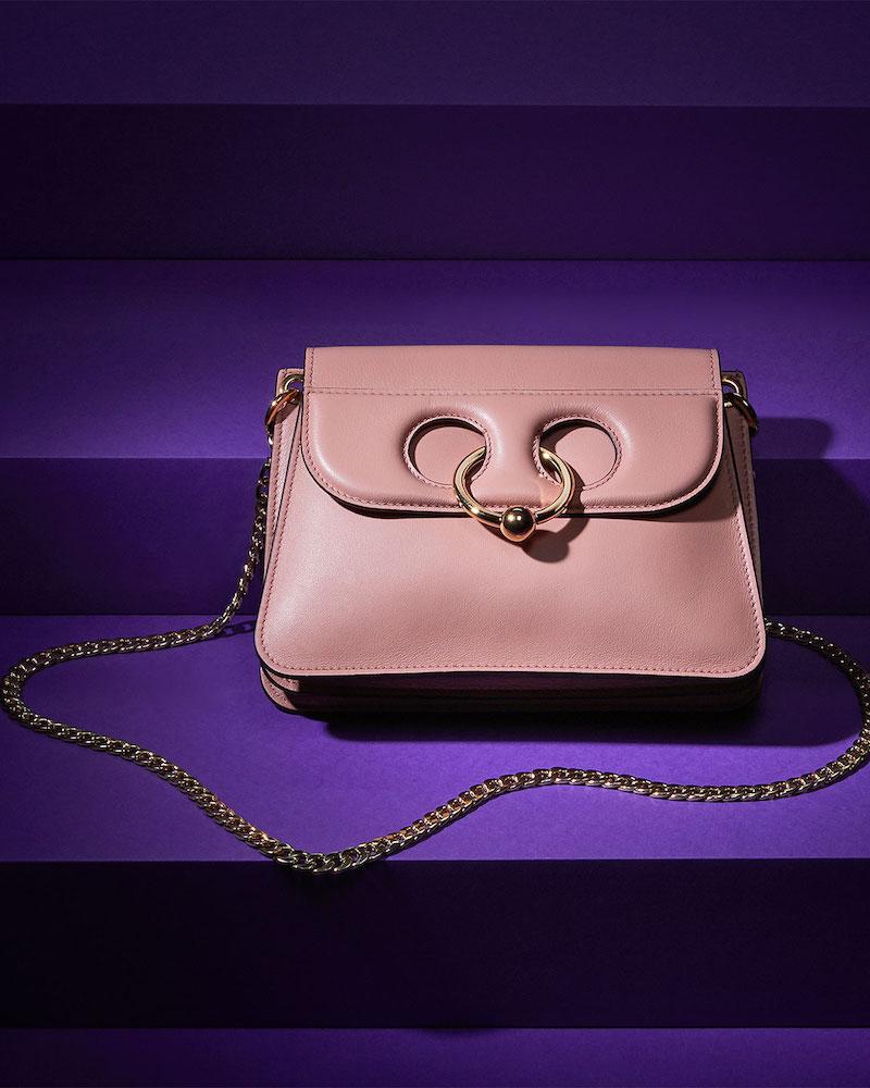J.W. Anderson Mini Pierce Calf Leather Shoulder Bag