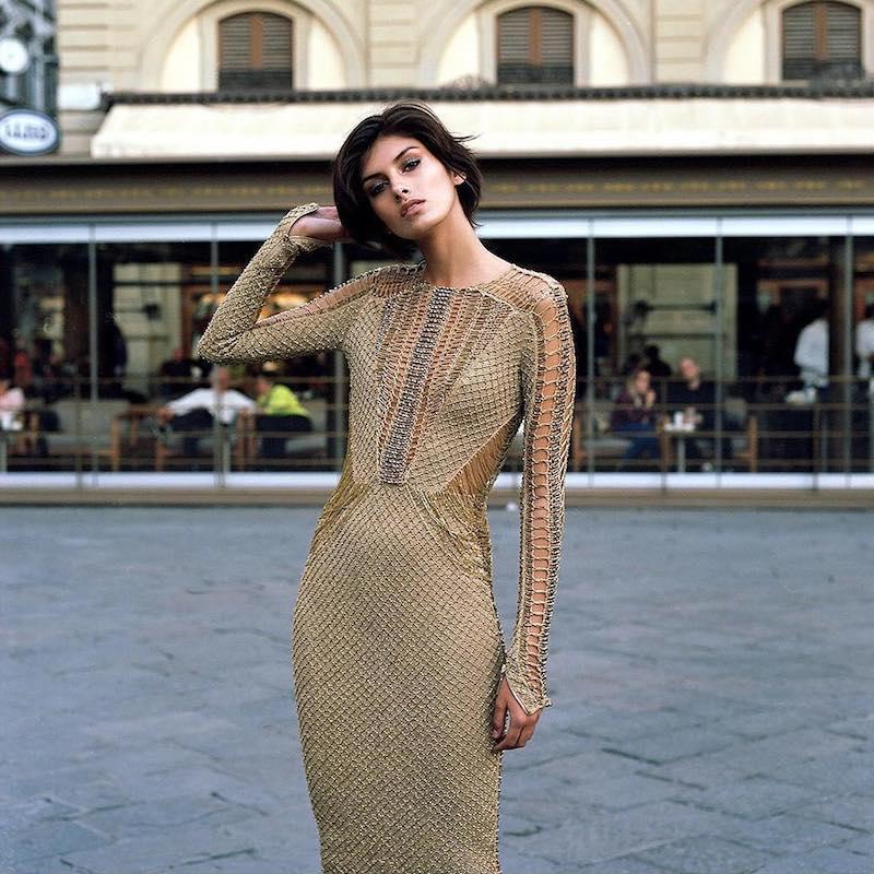 Julien Macdonald Embellished Knit Dress