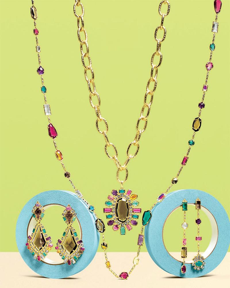 Kendra Scott Shanda Crystal Statement Necklace