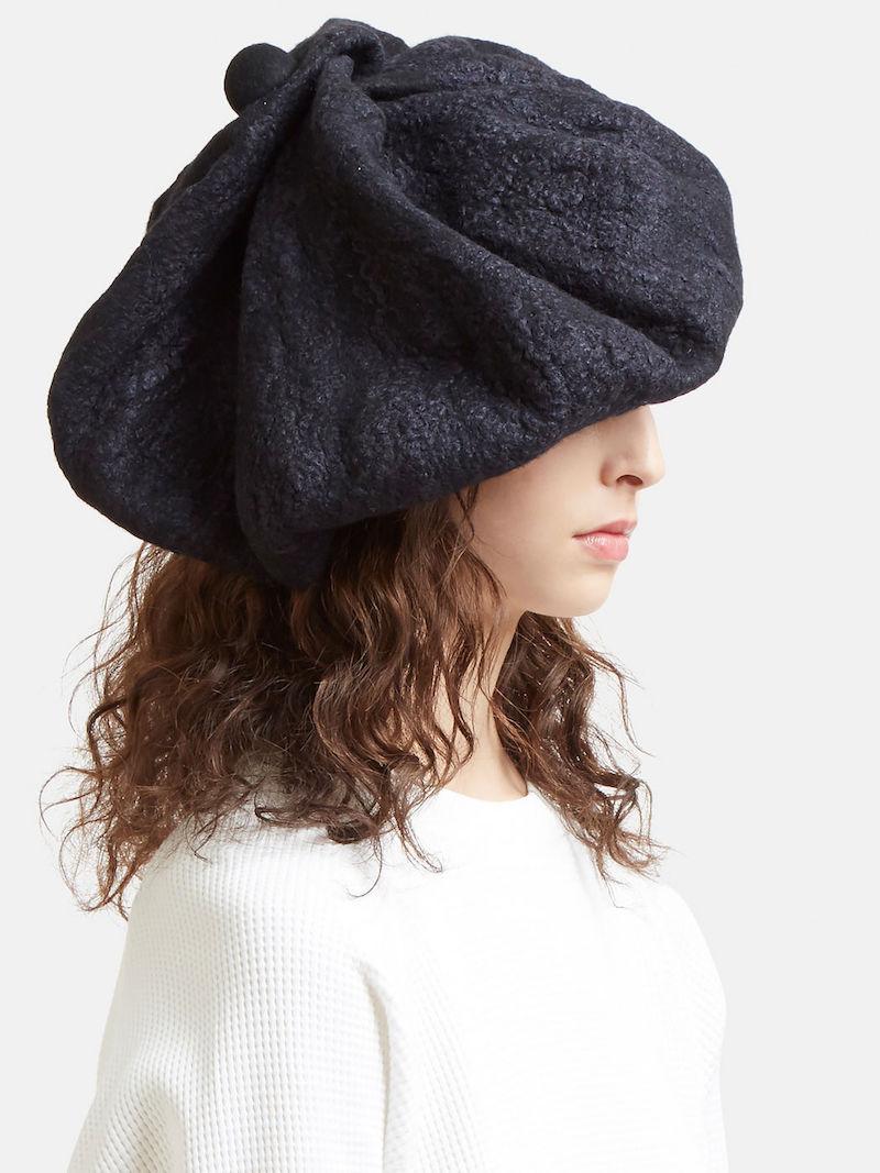 Kreuzzz Cumulus Hat in Black