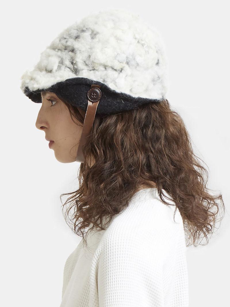 Kreuzzz Yuki Hat Fleece Hat in White