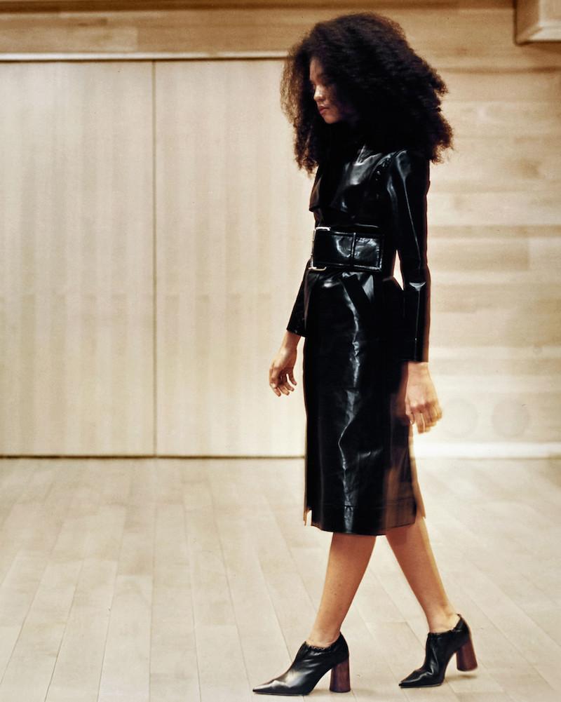 Kwaidan Editions Black Sutcliffe Trench Coat