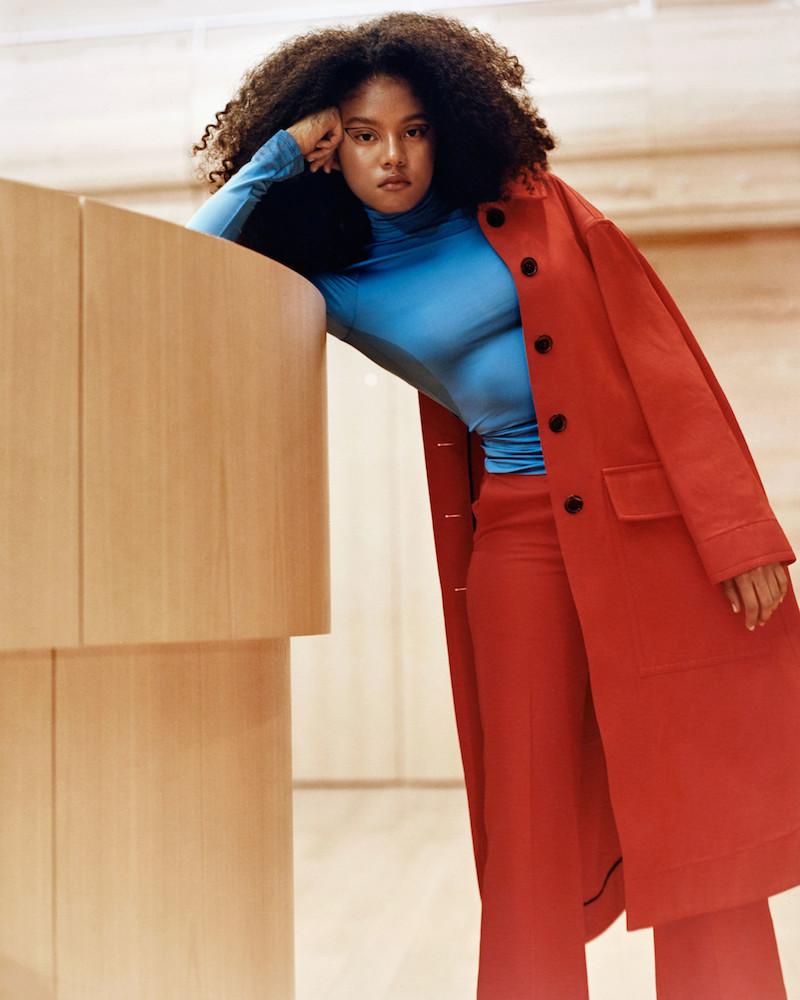Kwaidan Editions Red Lockwood Coat