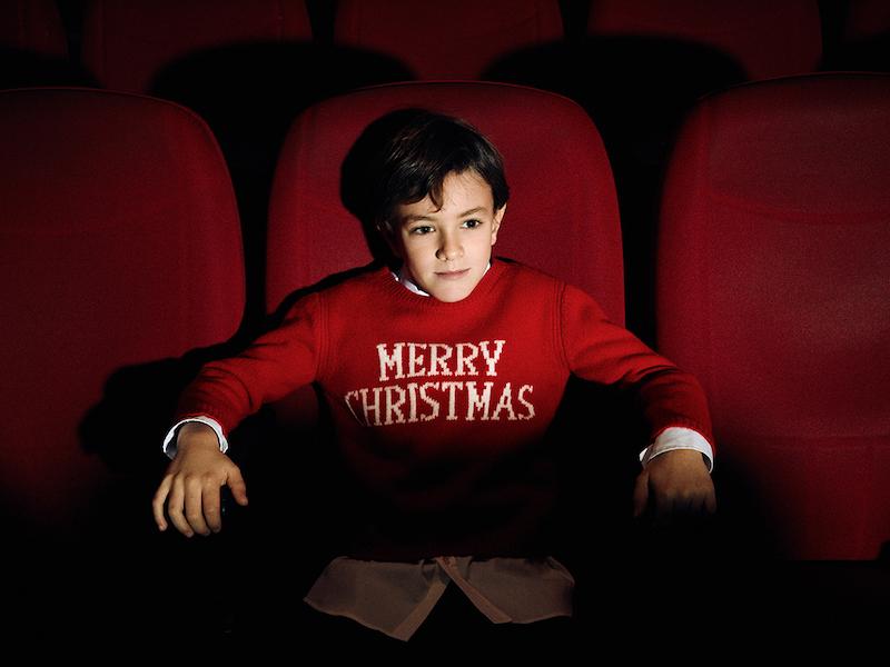 LVR Editions x Alberta Ferretti Boys MERRY CHRISTMAS Knitwear