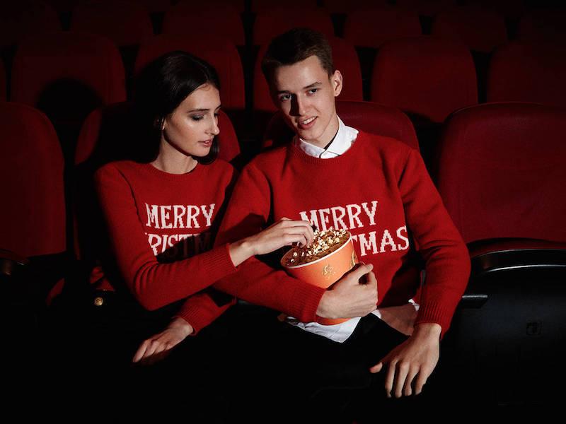 LVR Editions x Alberta Ferretti MERRY CHRISTMAS Knitwear