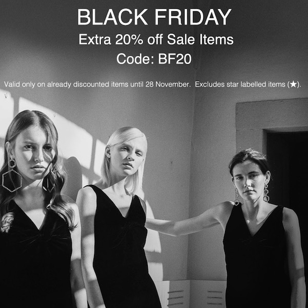 Luisa Via Roma Black Friday Starts Now