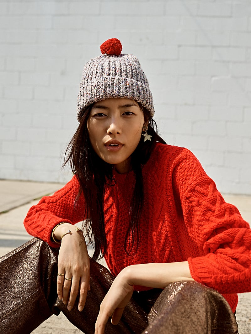Madewell Cableknit Pullover Sweater
