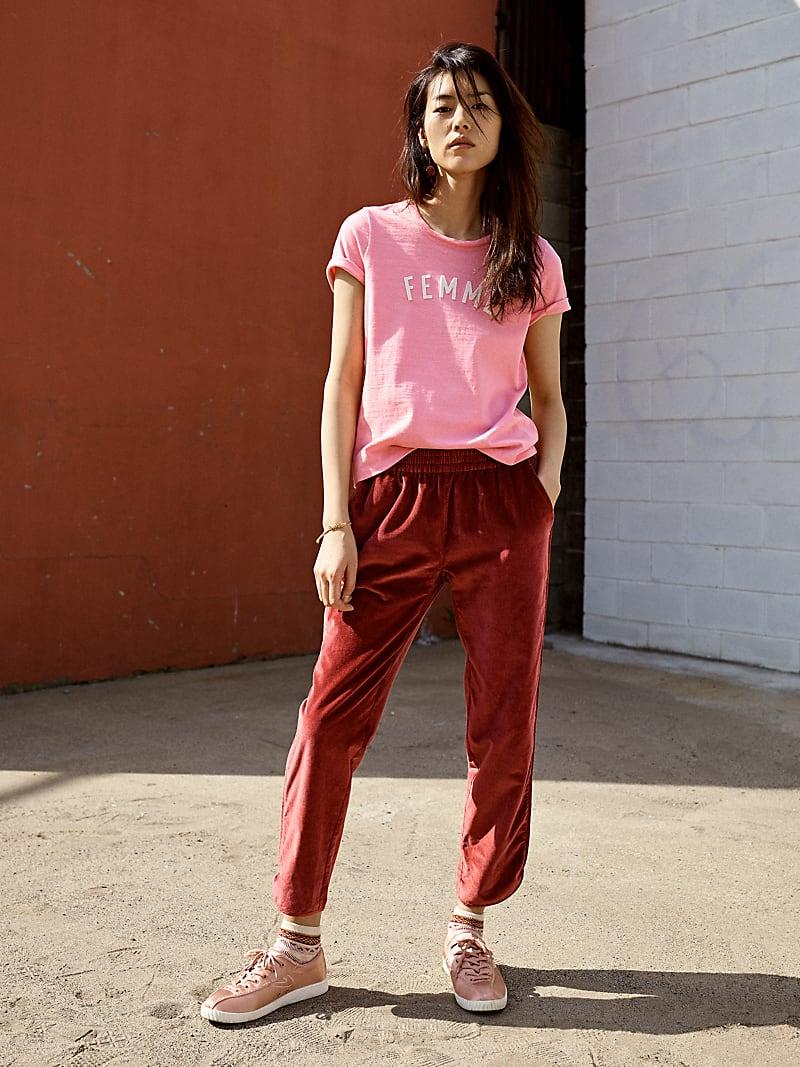 Madewell Pink Femme Tee