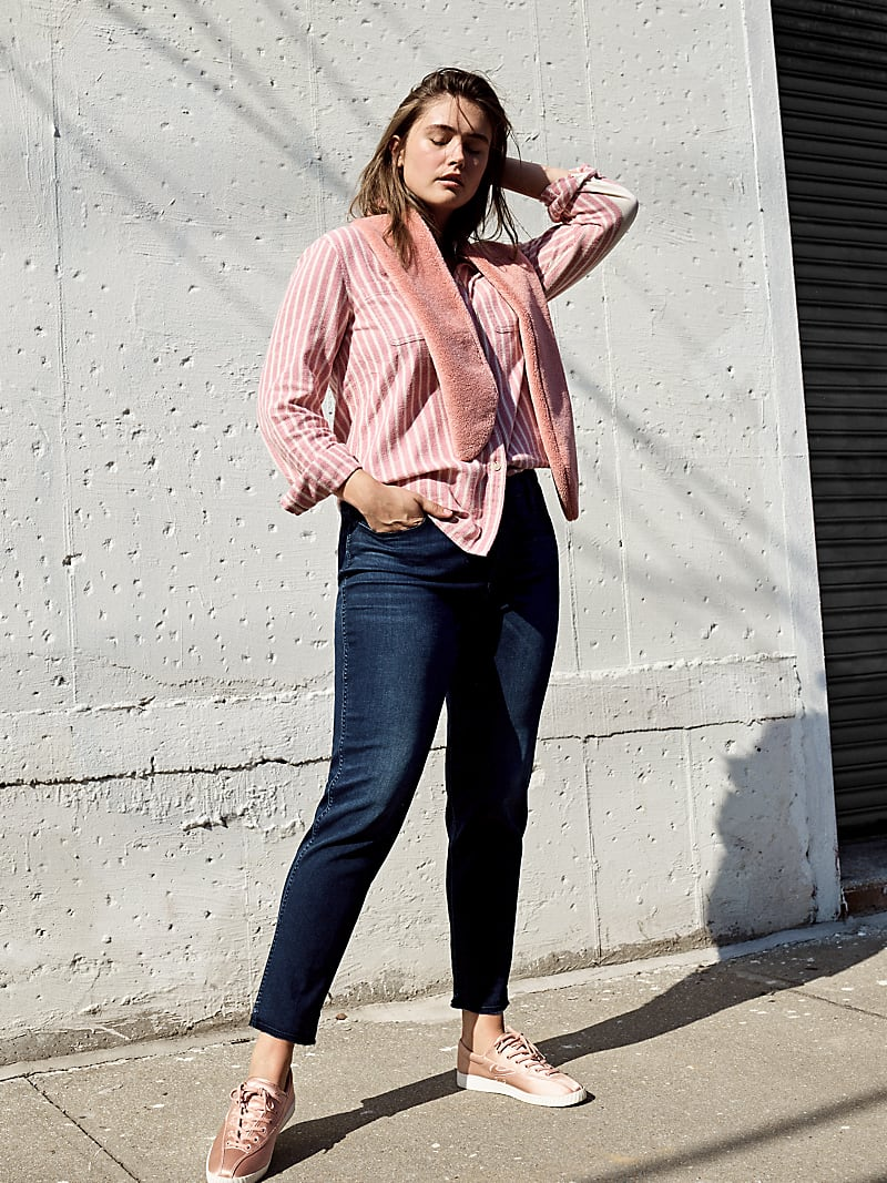 Madewell Slim Straight Jeans In William Wash