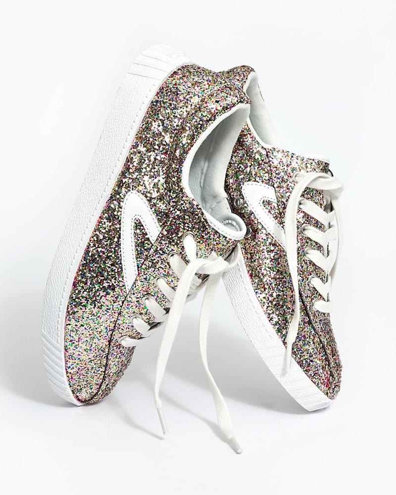 Madewell x Tretorn Nylite Plus Sneakers In Glitter