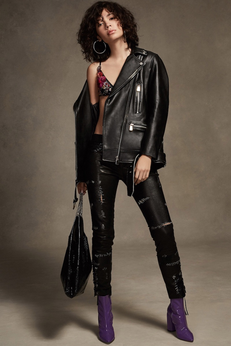 Margaux Lonnberg Classic Leather Moto Jacket