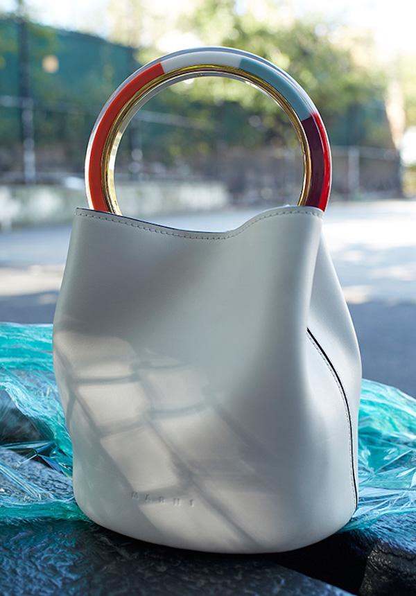Marni Colorblock Top Handle Bag