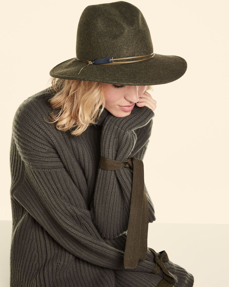 Marzi Wool Melange Hat