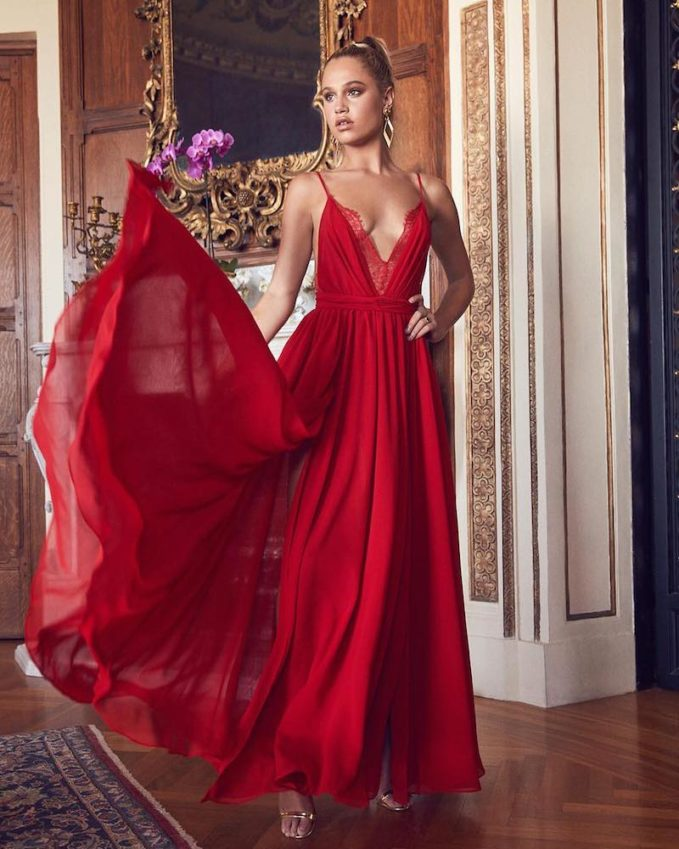 Michael Costello x REVOLVE Justin Gown