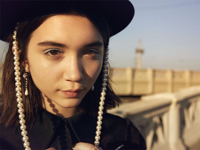 Miu Miu Silver-Tone, Crystal And Faux Pearl Earrings