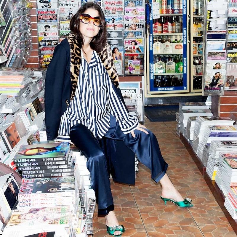 Morgan Lane Dillon Striped Pyjama Shirt