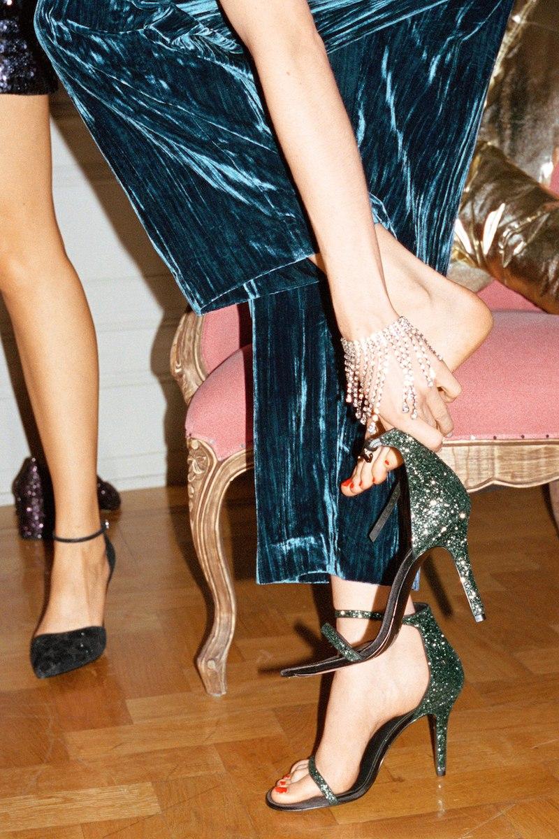 & Other Stories Glitter Sandalette
