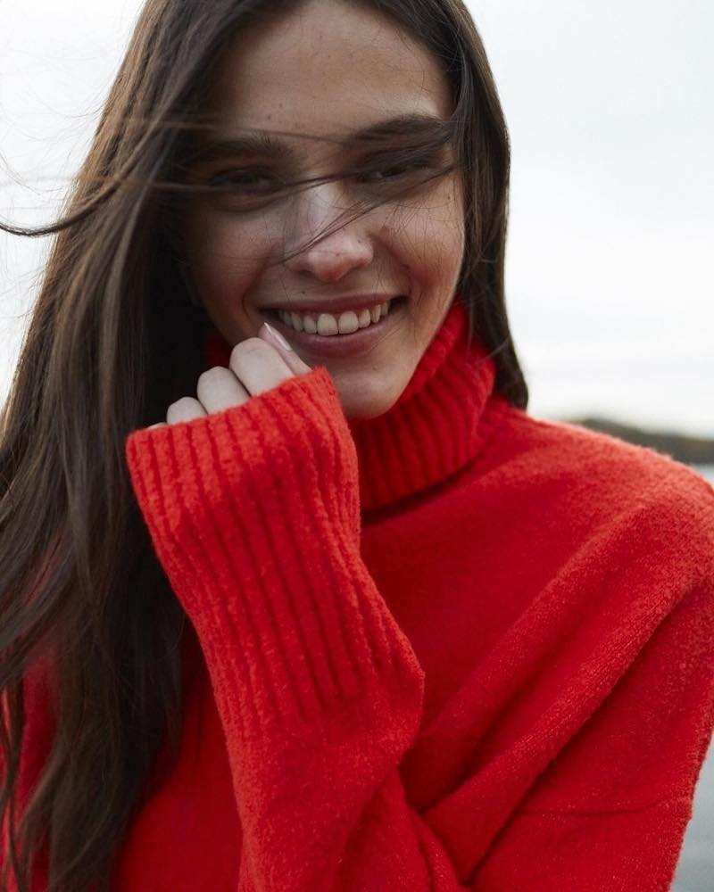 & Other Stories High Neck Sweater